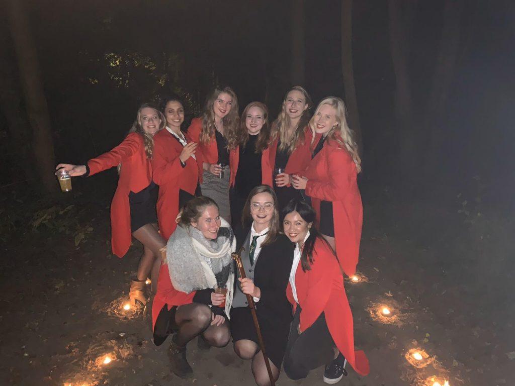 Studenten in Den Haag