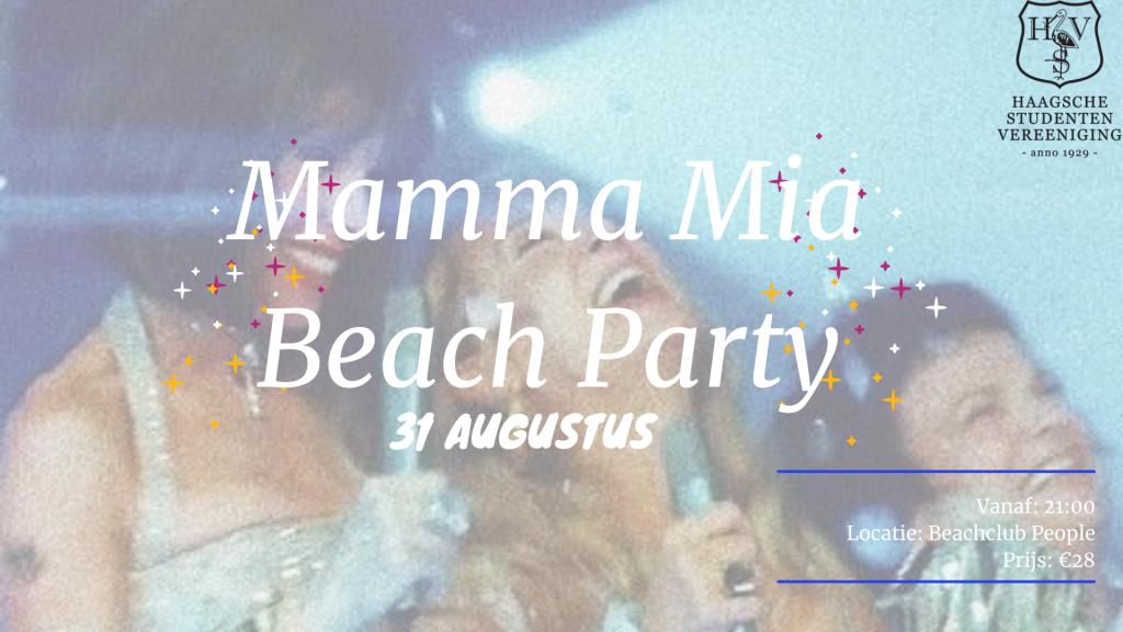 Mamma Mia beach party